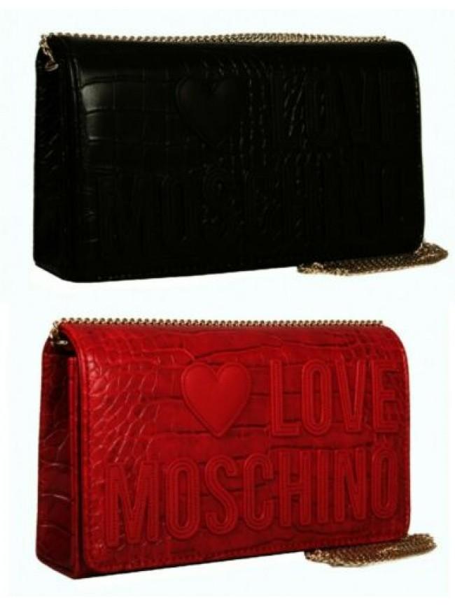 SG Borsetta pochette donna mano o spalla tracolla LOVE MOSCHINO articolo JC4063P