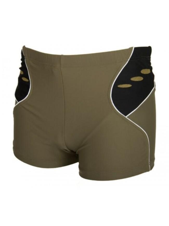 SG Boxer corto costume pantaloncino uomo mare o piscina AQUARAPID articolo POLIC