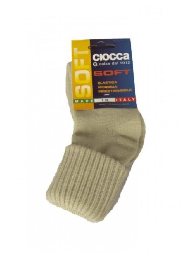 SG Calza calzino basso soft donna con risvolto CIOCCA articolo 502/1