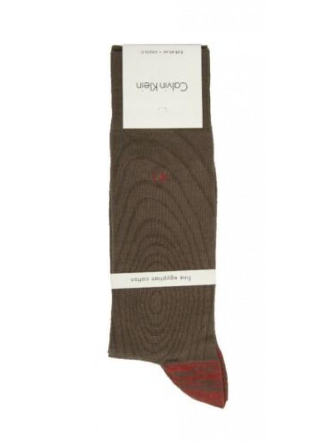 SG Calza uomo trunk 1 paio di calzini in cotone CK CALVIN KLEIN articolo ECR164
