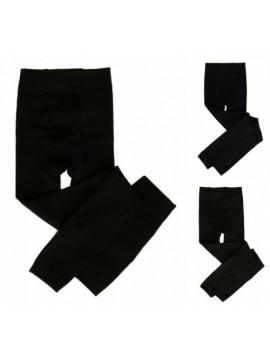 SG Calzamaglia collant leggings donna senza piede pile CIOCCA articolo 612/L