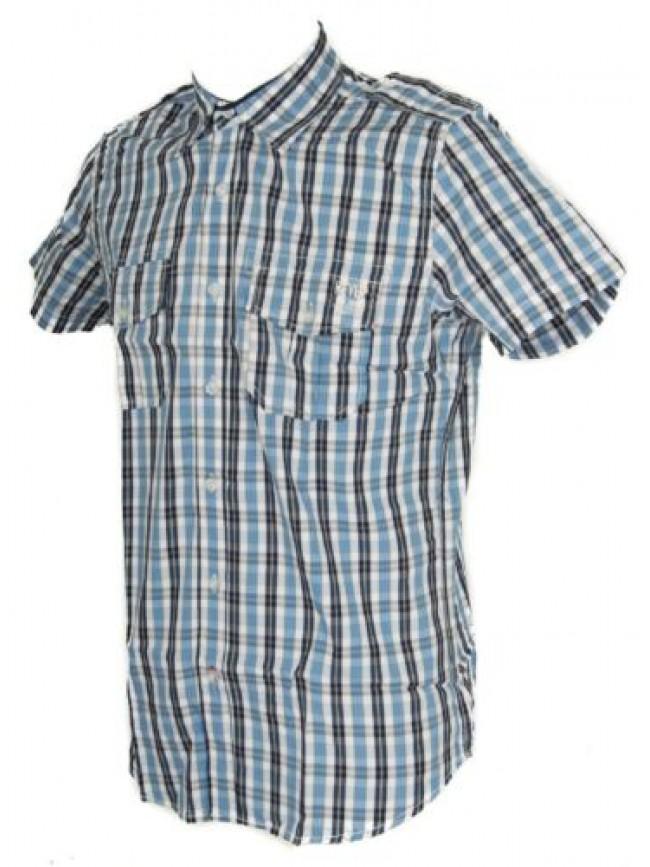 SG Camicia uomo manica corta cotone KEY-UP articolo 20C43