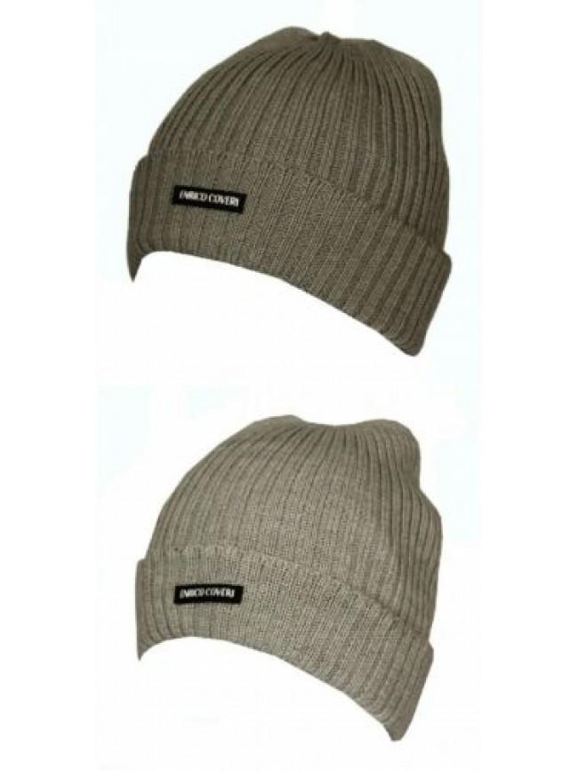 SG Cappello berretto con risvolto ENRICO COVERI articolo CACO024 Made in Italy