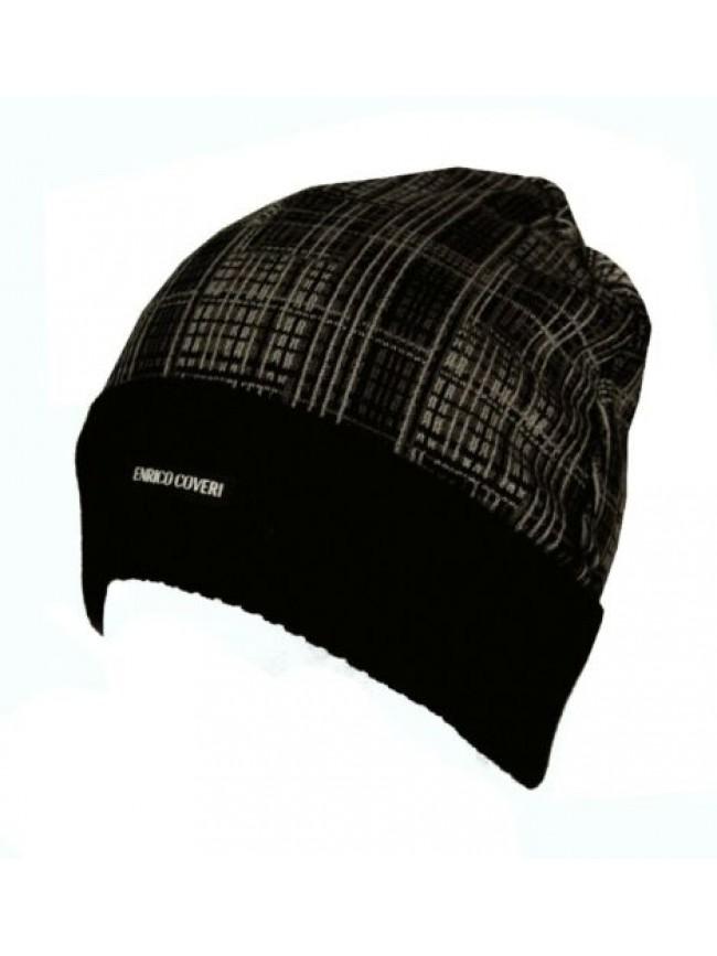 SG Cappello berretto con risvolto ENRICO COVERI articolo CACO029 Made in Italy