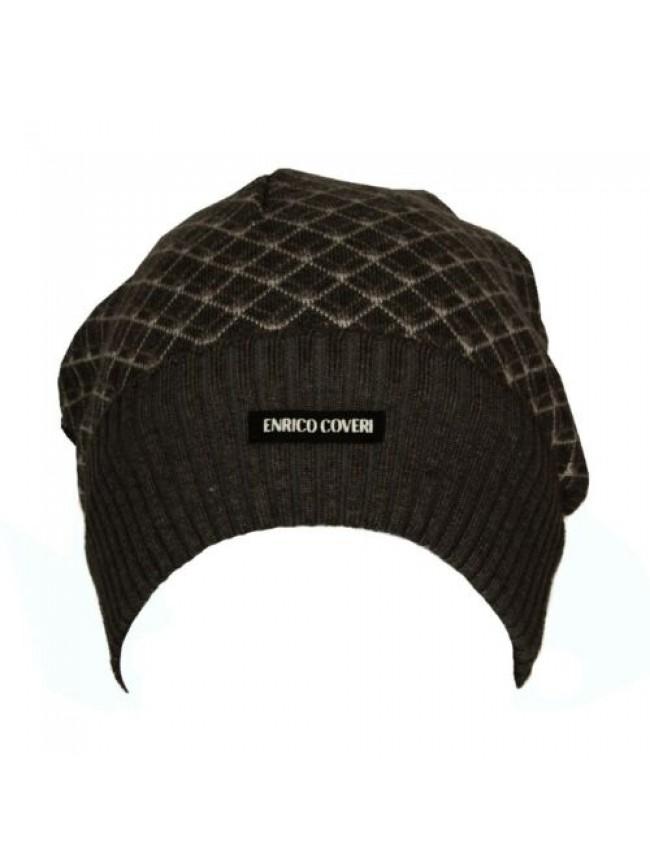 SG Cappello berretto con risvolto ENRICO COVERI articolo CACO035 Made in Italy