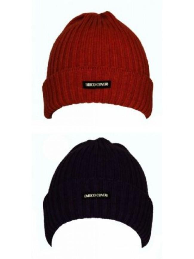 SG Cappello berretto con risvolto ENRICO COVERI articolo CACO037 Made in Italy