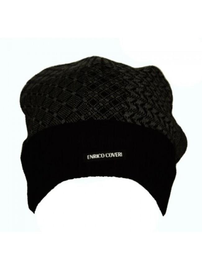 SG Cappello berretto con risvolto ENRICO COVERI articolo CACO040 Made in Italy