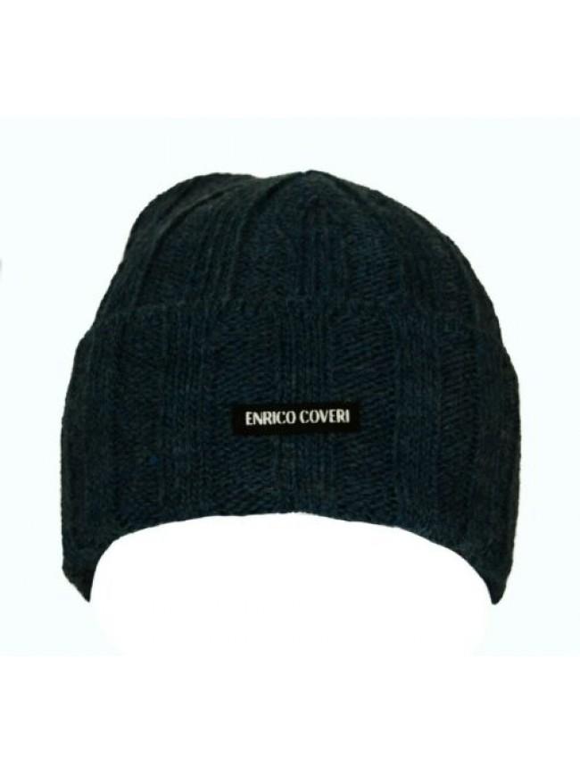 SG Cappello berretto con risvolto ENRICO COVERI articolo CACO041 Made in Italy