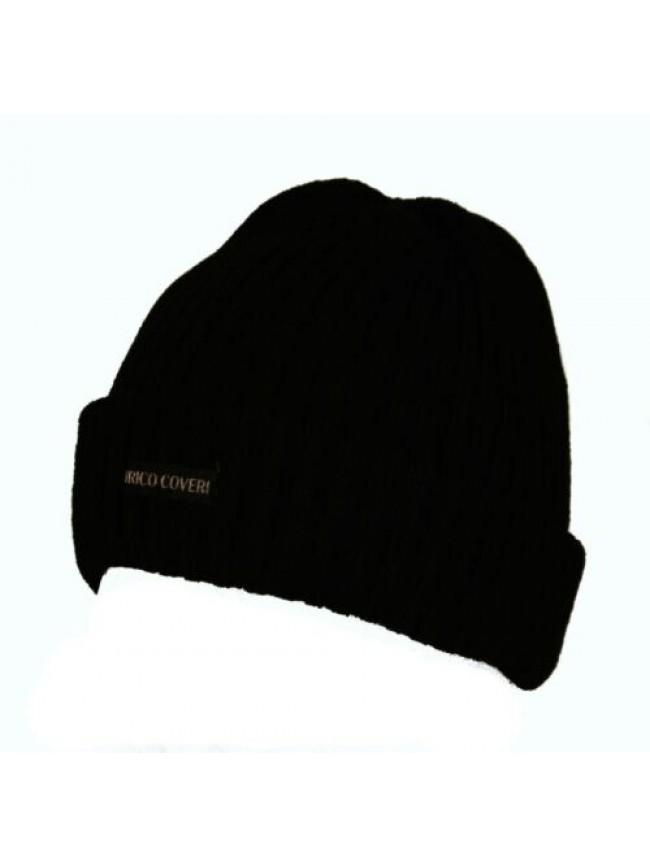 SG Cappello berretto con risvolto ENRICO COVERI articolo MC1243 Made in Italy
