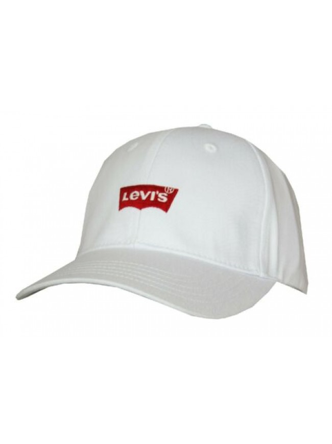 SG Cappello berretto con visiera uomo regolabile cotone LEVI'S articolo 229870