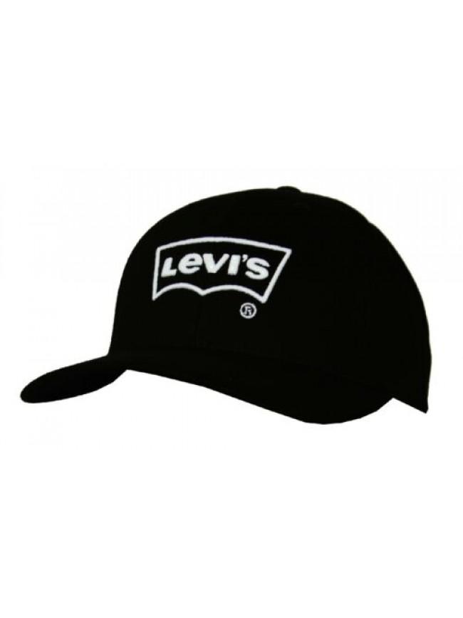 SG Cappello berretto con visiera uomo regolabile cotone LEVI'S articolo 230266