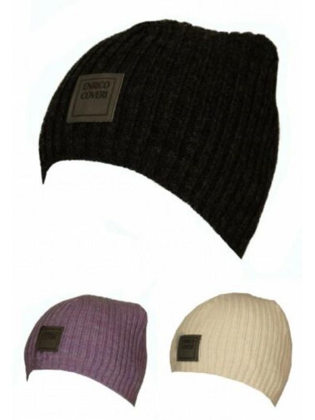 SG Cappello berretto cuffia ENRICO COVERI articolo MC1081C Made in Italy