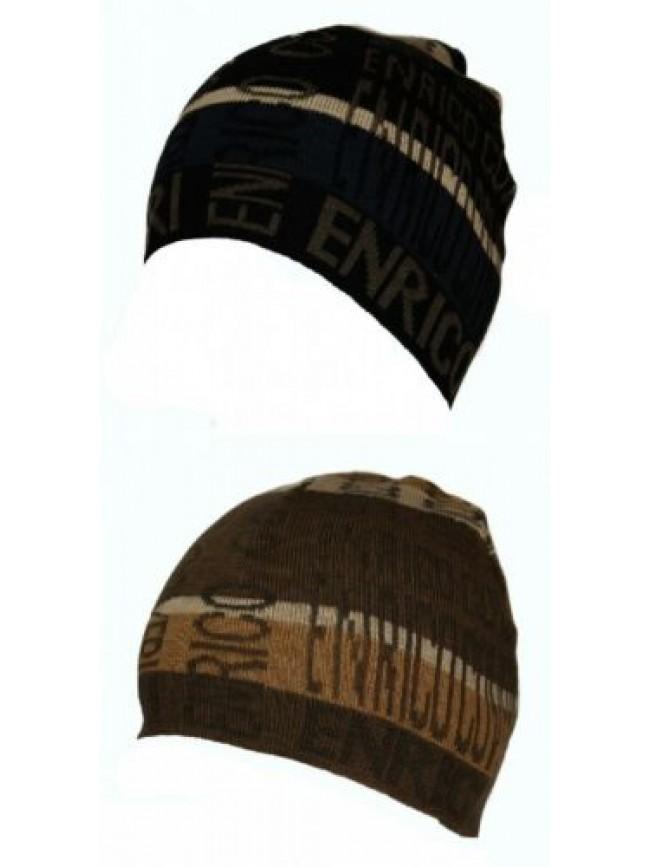 SG Cappello berretto cuffia ENRICO COVERI articolo MC1318 Made in Italy