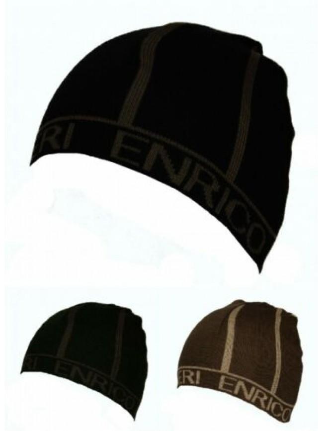 SG Cappello berretto cuffia ENRICO COVERI articolo MC1352 Made in Italy