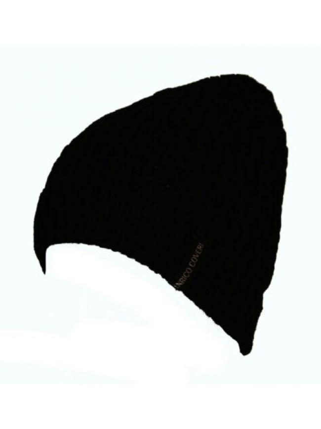 SG Cappello berretto cuffia con risvolto ENRICO COVERI articolo MC1337 Made in I