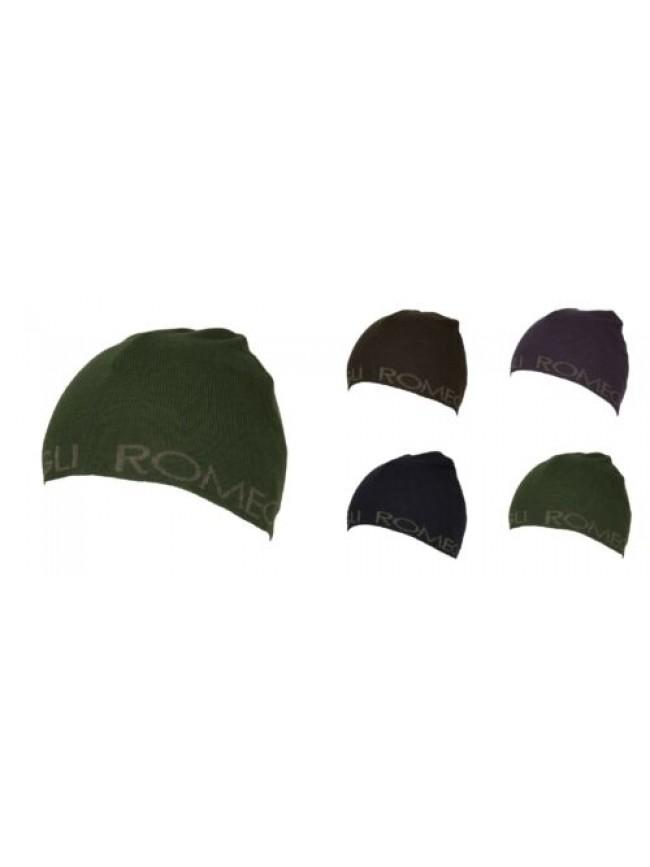 SG Cappello berretto cuffia unisex ROMEO GIGLI articolo CARG001 Made in Italy