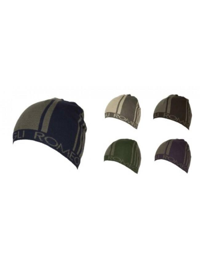 SG Cappello berretto cuffia unisex ROMEO GIGLI articolo MC1402G Made in Italy