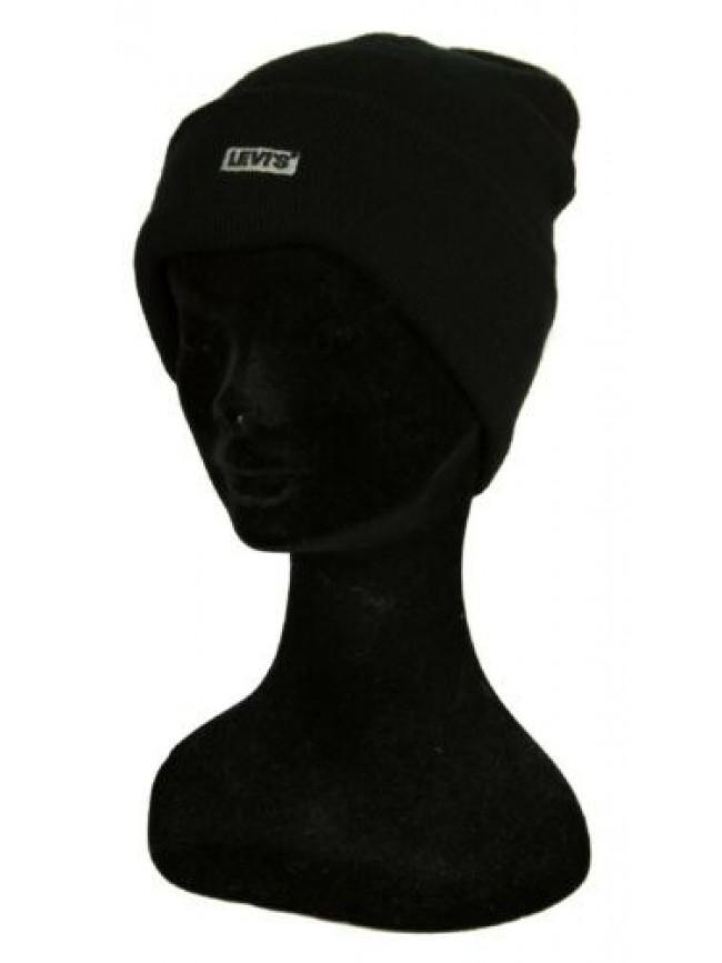 SG Cappello berretto cuffia unisex cappellino con risvolto LEVI'S articolo 23076