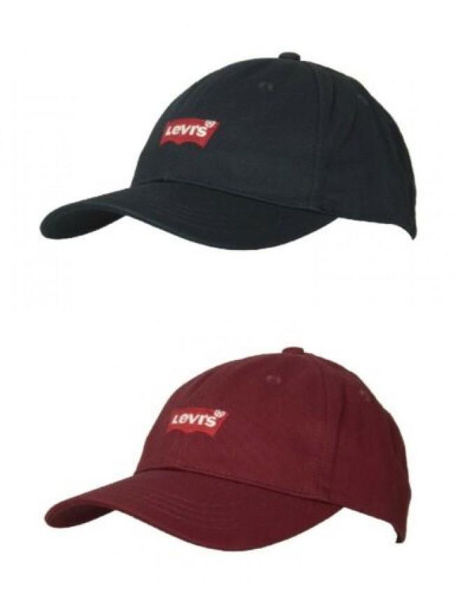 SG Cappello berretto uomo cotone con visiera LEVI'S articolo 231078 CAPPELLINO B