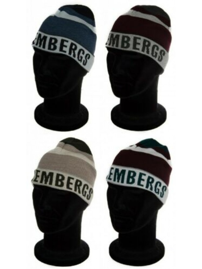 SG Cappello cuffia con risvolto BIKKEMBERGS articolo 01340/14810 made in italy