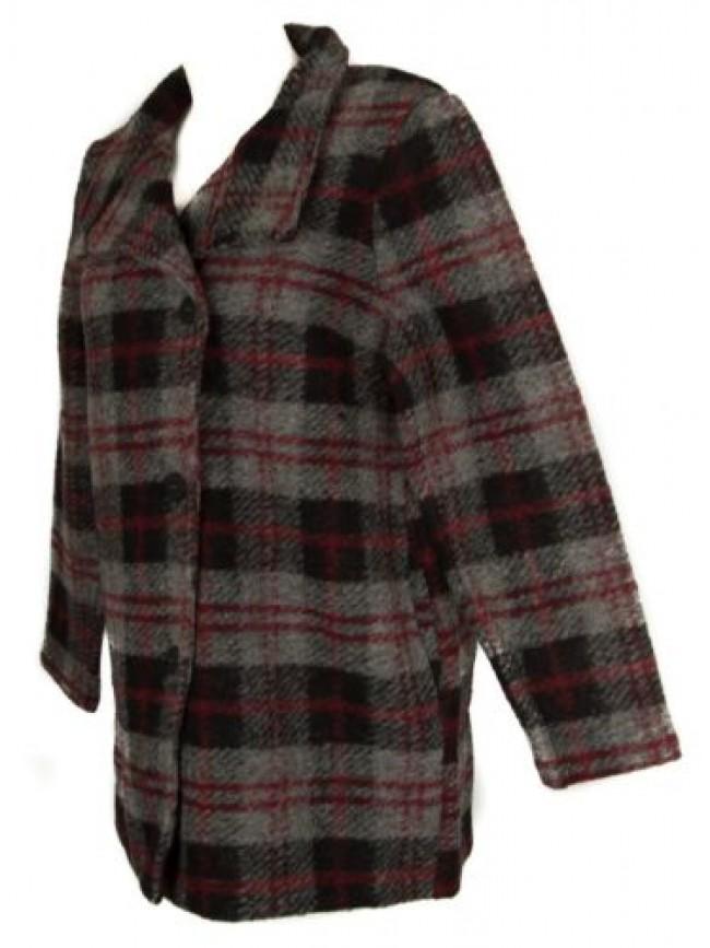 SG Cappotto corto con bottoni giacca donna lana cotta RAGNO articolo 70782W CAPP