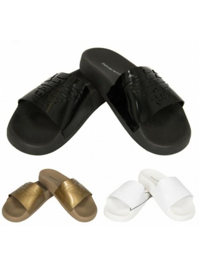 SG Ciabatta a fascia donna mare o piscina ciabatte pvc beachwear EMPORIO ARMANI