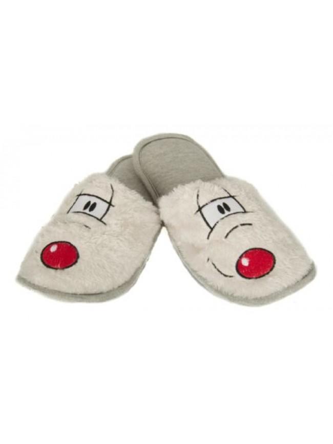 SG Ciabatte pantofole con sacchetto uomo homewear sleepwear HAPPY PEOPLE articol
