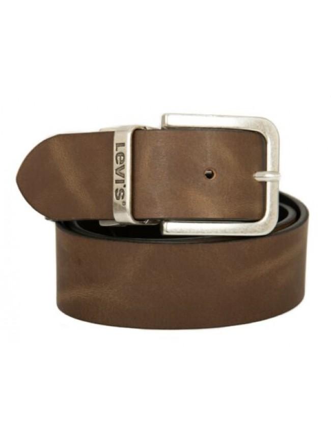 SG Cintura uomo in pelle reversibile LEVI'S articolo 214826 reverse core leather