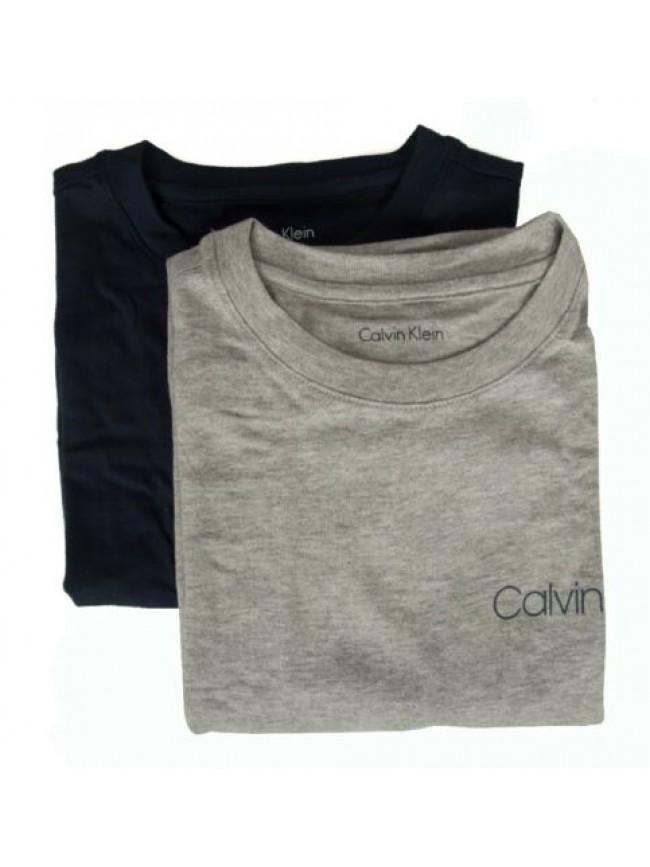 SG Confezione 2 t-shirt manica corta girocollo bimbo maschio CK CALVIN KLEIN B70