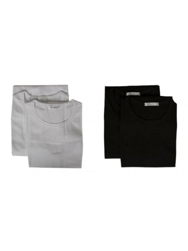 SG Confezione 2 t-shirt uomo canottiera smanicata cotone bipack NOTTINGHAM artic