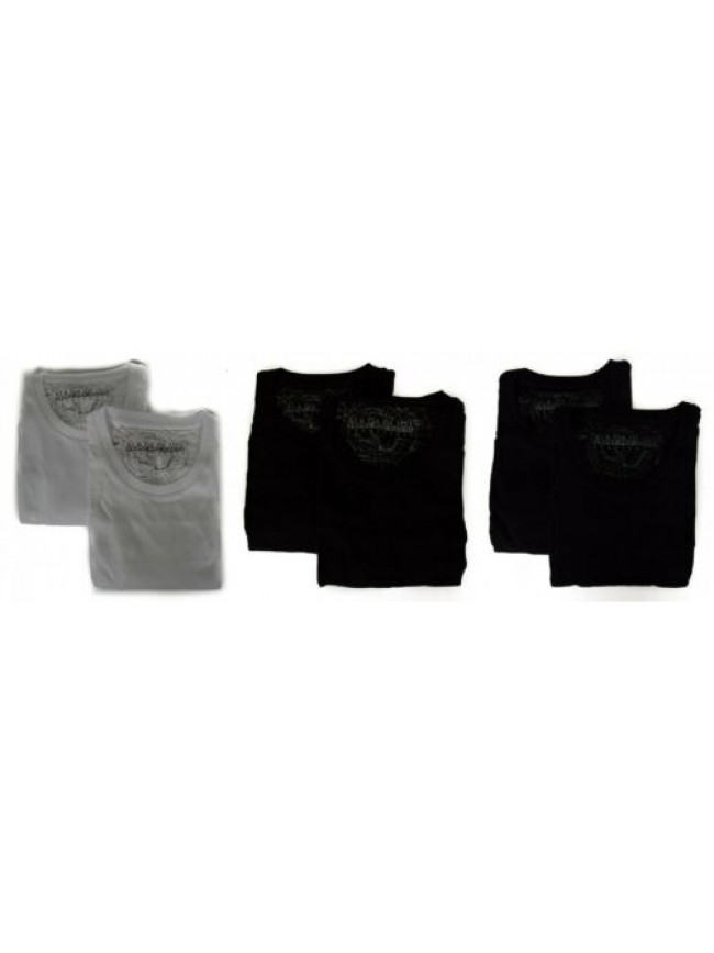SG Confezione 2 t-shirt uomo manica corta girocollo NAPAPIJRI articolo N0Y9VW