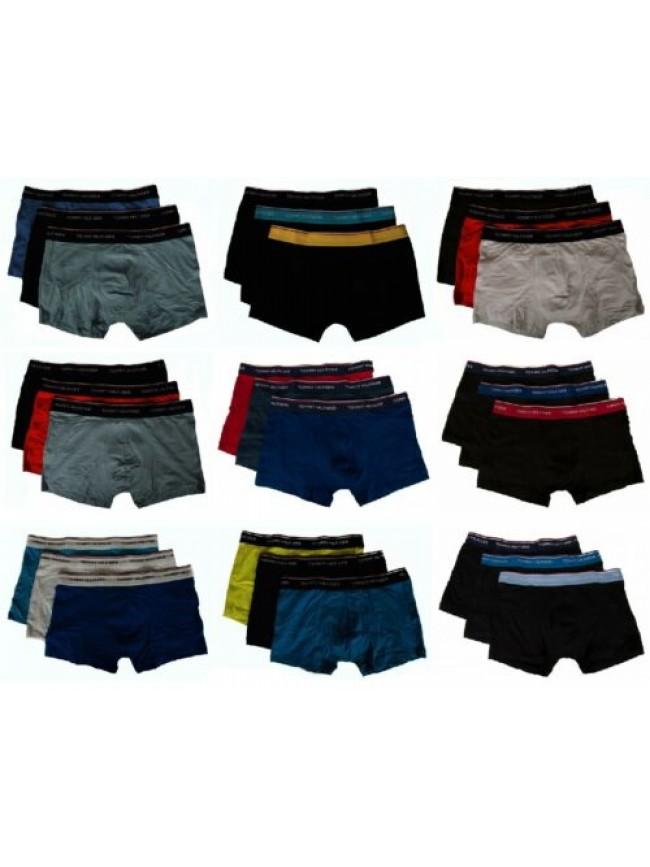 SG Confezione 3 boxer uomo tripack underwear TOMMY HILFIGER articolo 1U87903842