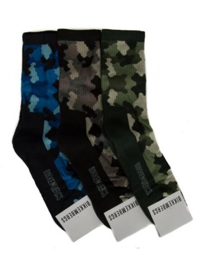 SG Confezione 3 paia calze corte uomo set regalo calzini tripack BIKKEMBERGS art