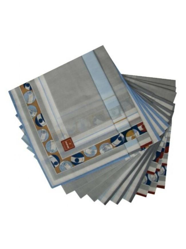 SG Confezione scatola 12 fazzoletti cm.45x45 SKIATORE PEROFIL articolo V019
