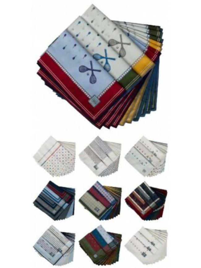 SG Confezione scatola 12 fazzoletti cm.50x50 PEROFIL articolo VPRT00284-10