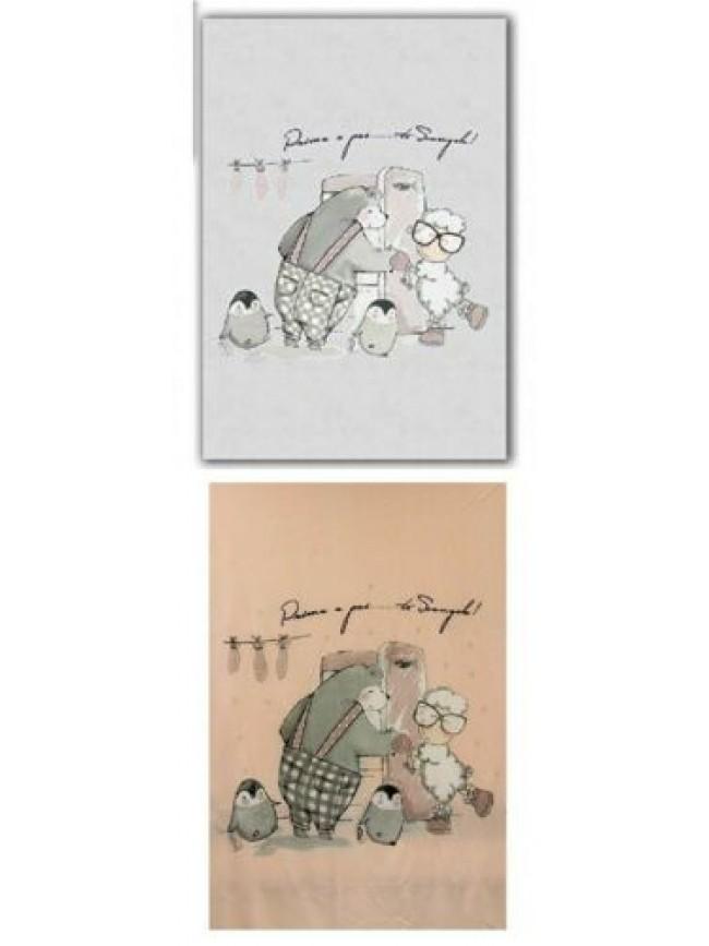 SG Coperta plaid 130x180 cm. pile HAPPY PEOPLE articolo NL3817 TI SCONGELO