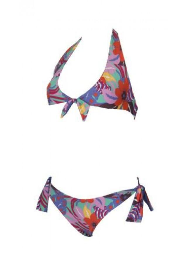 SG Costume bikini donna mare triangolo e slip reversibile EMPORIO ARMANI articol
