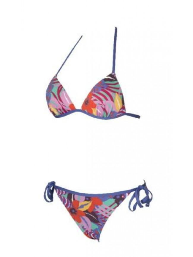 SG Costume bikini donna mare triangolo imbottito e slip reversibile EMPORIO ARMA