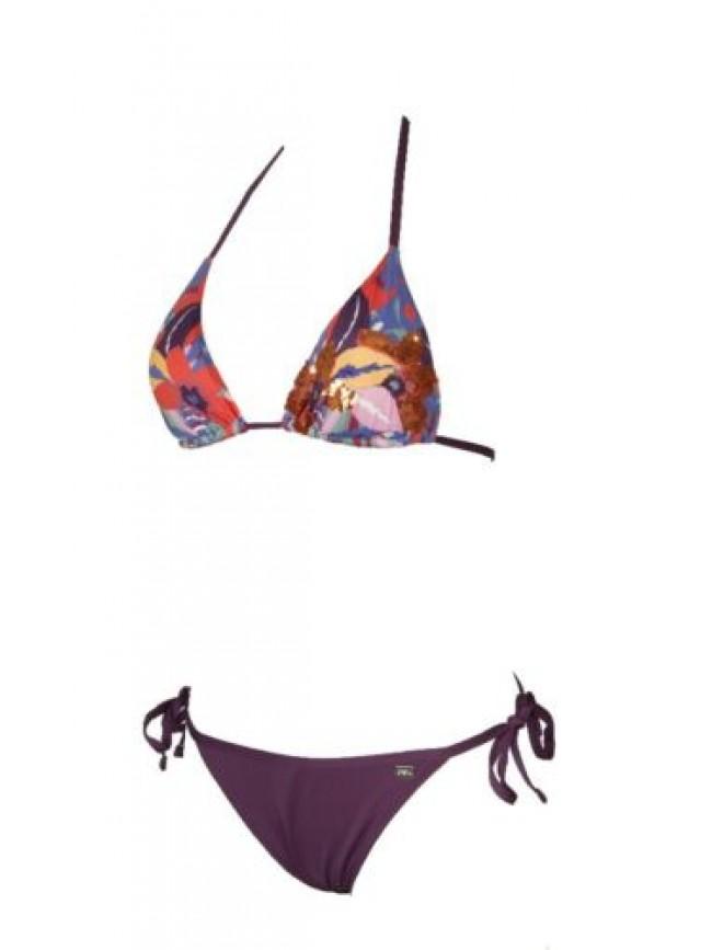 SG Costume bikini donna mare triangolo imbottito  removibili e slip EMPORIO ARMA