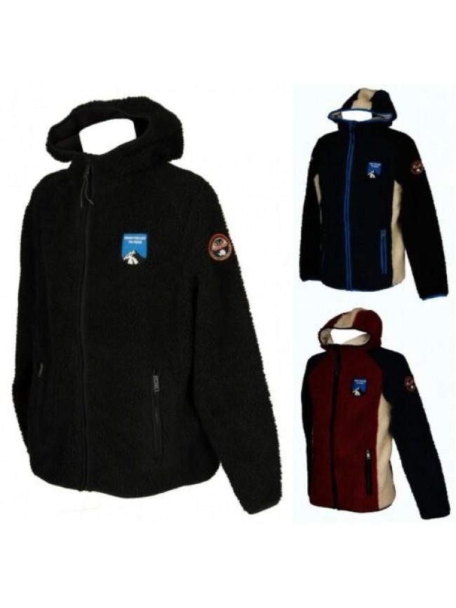 SG Giaccone giacca giubbotto felpa uomo con cappuccio zip e tasche NAPAPIJRI art