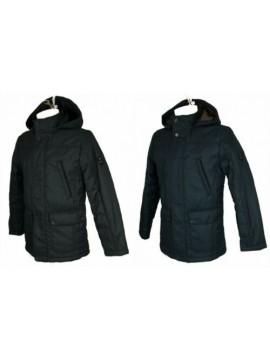 SG Giubbotto giaccone uomo cappuccio staccabile con zip e clip  IL GRANCHIO arti