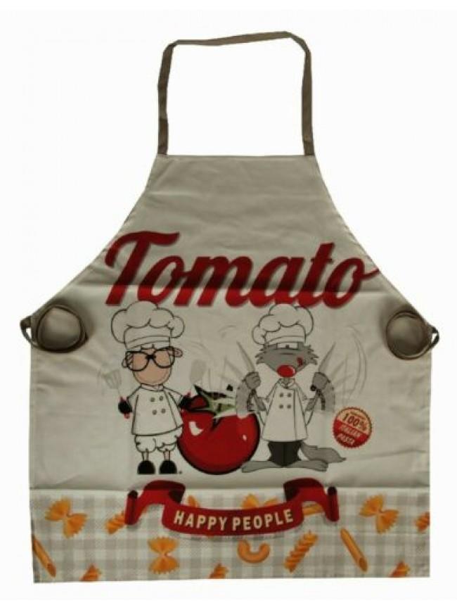 SG Grembiule cucina grembio cotone HAPPY PEOPLE articolo KA07820201 MADE IN ITAL