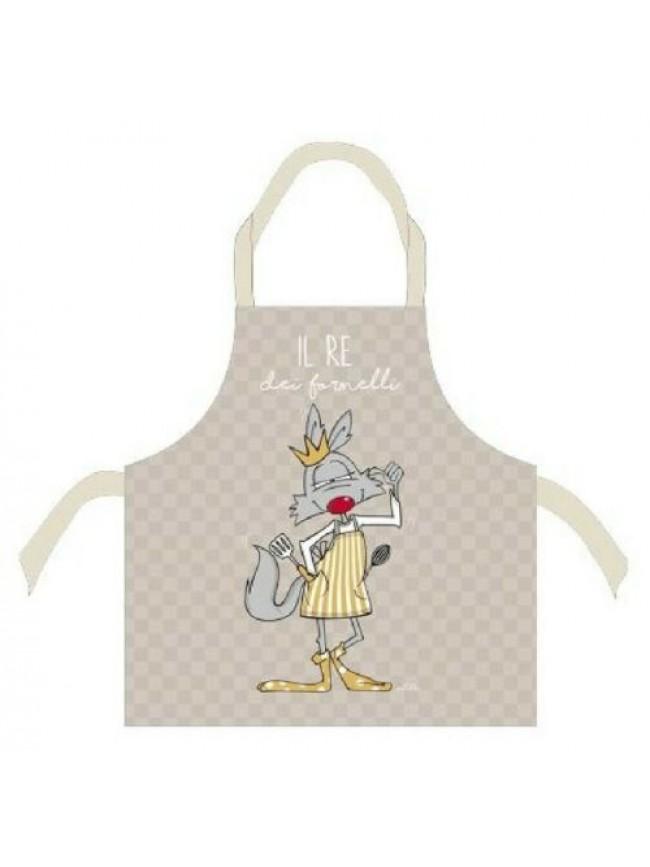 SG Grembiule cucina grembio cotone HAPPY PEOPLE articolo KA08610101 MADE IN ITAL