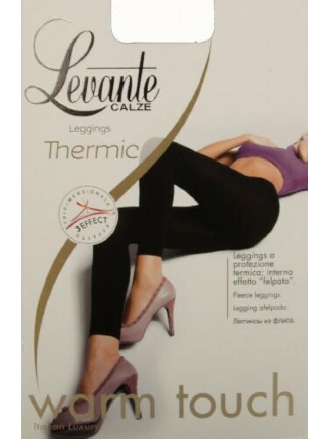 SG Leggings collant donna senza piede coprente felpato comfort LEVANTE articolo