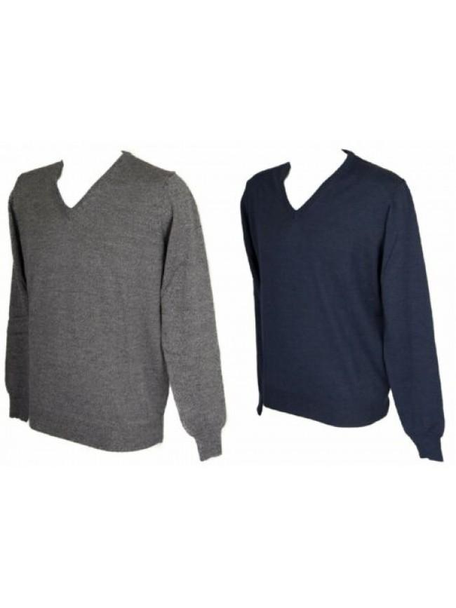 SG Maglia pullover uomo lana scollo V manica lunga RAGNO articolo A23512