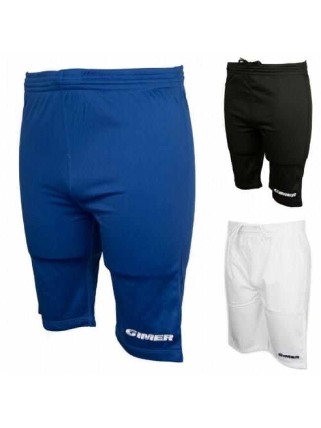SG Pantalone corto bermuda uomo sport calcio allenamento GIMER articolo 3/081 BE
