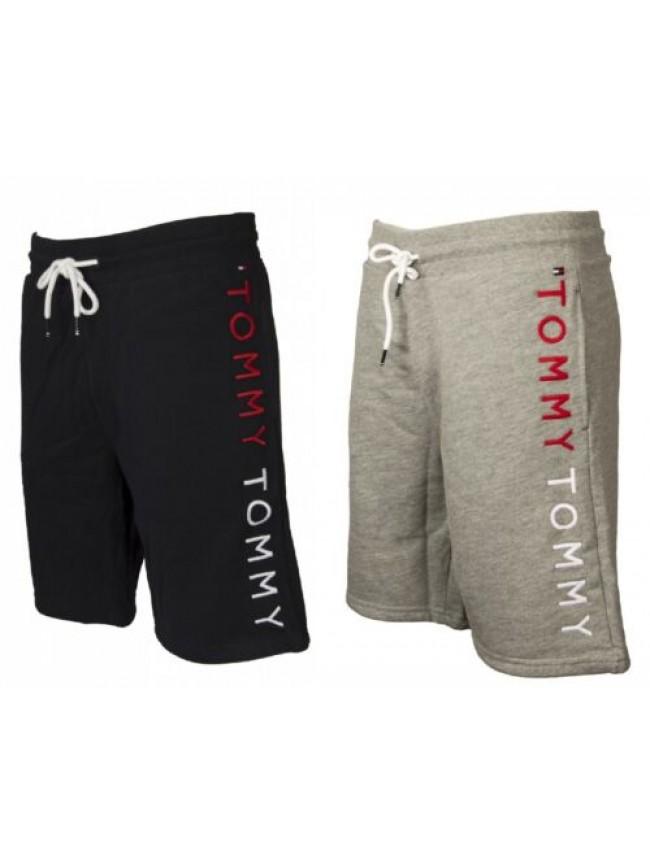 SG Pantalone corto uomo con tasche e coulisse cotone bermuda sport TOMMY HILFIGE