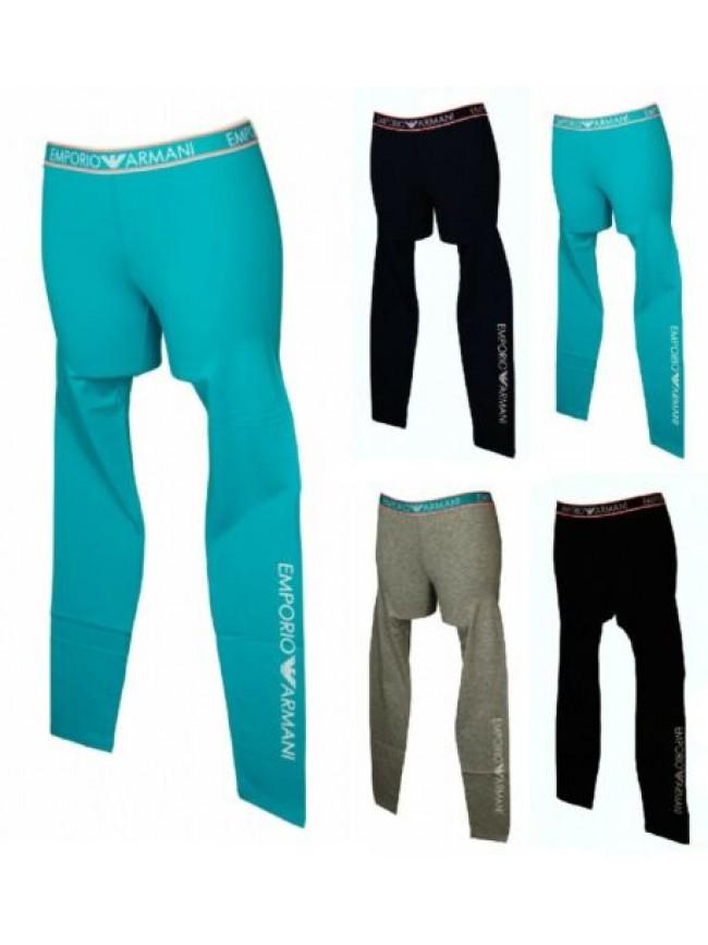 SG Pantalone leggings donna cotone EMPORIO ARMANI articolo 164162 0P317 LEGGINGS