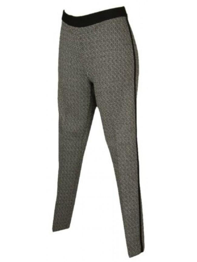 SG Pantalone lungo tempo libero pantaloni comfort in jacquard donna RAGNO artico
