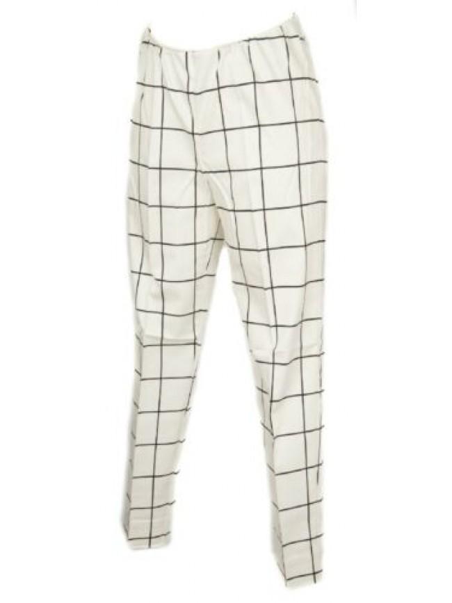 SG Pantalone lungo tempo libero pantaloni cotone donna con spacchetti RAGNO arti